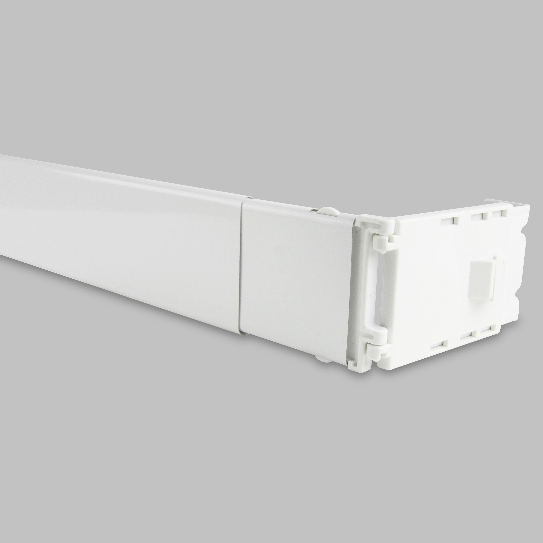 Instyledesign Adjustable Wide Pocket Curtain Rod Pocket Curtains