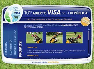 Abierto Visa de la República, activación online