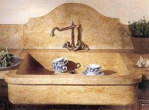 Quando scegliere un Lavello e Lavabo in marmo ...