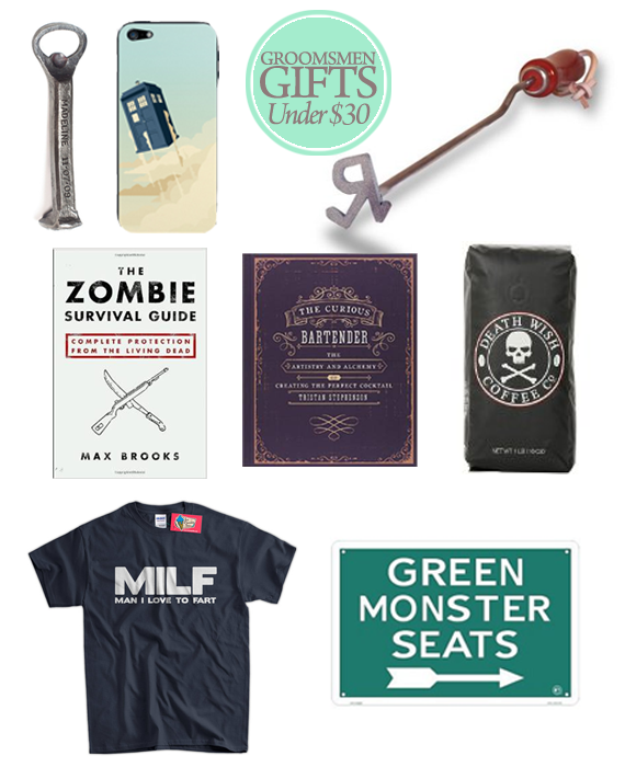 Cool Wedding Gifts For Groomsmen: Great Groomsmen Gifts For Under $30