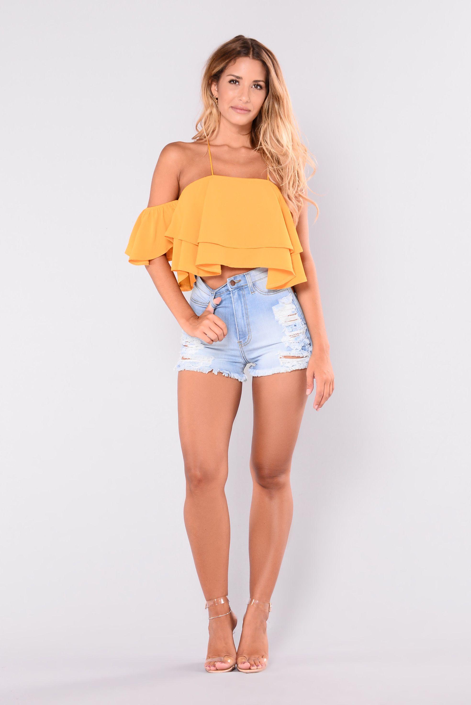 ba73362ae29c Summer Loving High Waisted Shorts - Light