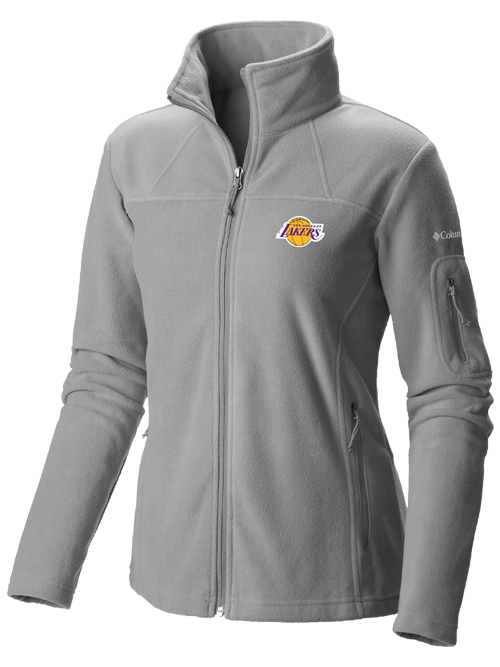11ec0939d Los Angeles Lakers Women s Give and Go Full Zip Fleece – Lakers Store
