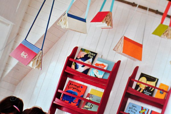 Books Hanging From The Ceiling Pottery Barn Kids
