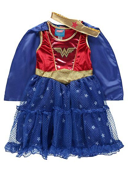 Wonder Woman Fancy Dress Costume | Kids | George at ASDA  sc 1 st  Pinterest & Wonder Woman Fancy Dress Costume | Kids | George at ASDA | Amelieu0027s ...