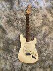 1995-96 Fender Stratocaster MIM Mexico - White body rosewood fretboard #Guitars&Basses #fenderstratocaster