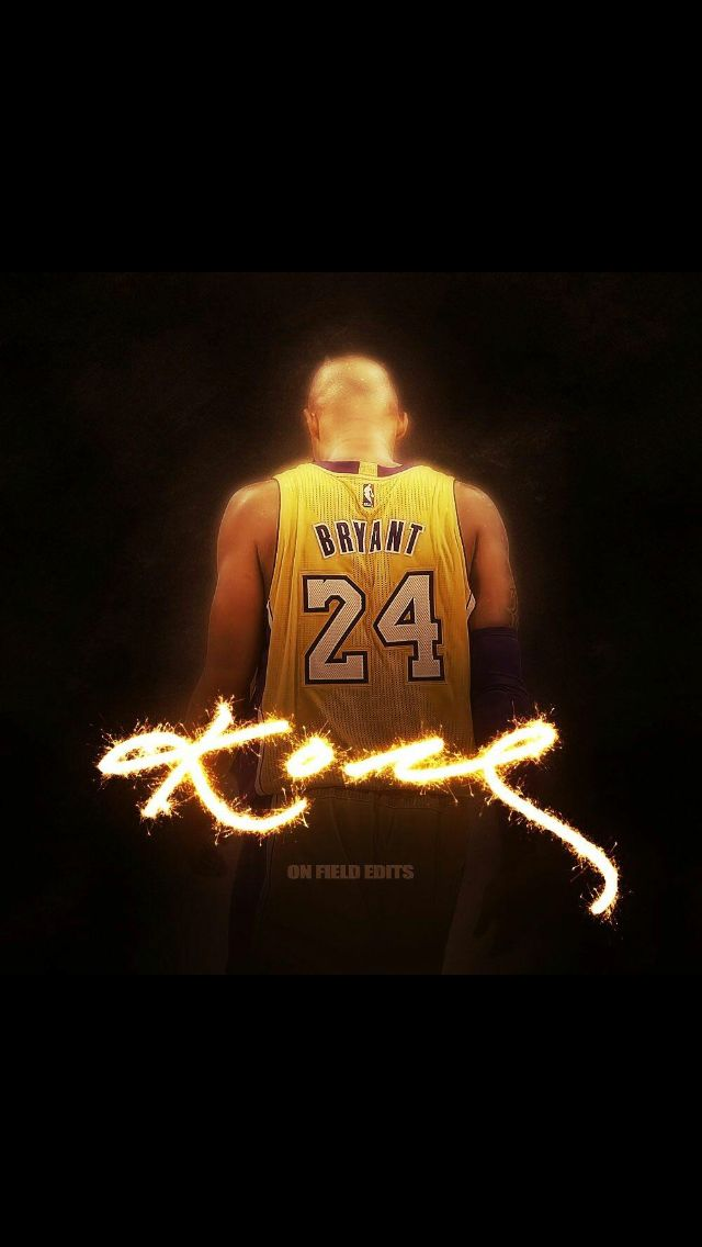 Long Live the Lakers, Thank you Kobe! Design by On Field