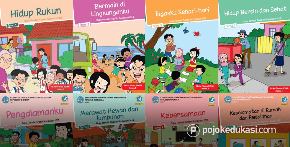 Kunci Jawaban Buku Siswa Kelas 2 Tema 1 2 3 4 5 6 7 8 Buku Kurikulum Kunci