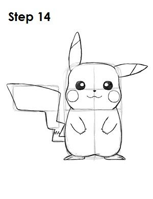 learn how to draw pikachu with this step by step tutorial and video