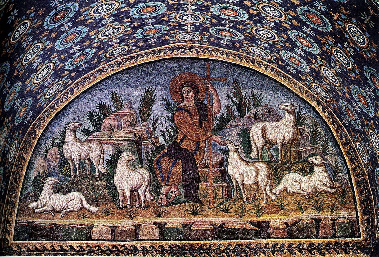 Detalle Mausoleo de Gala Placidia, Ravenna