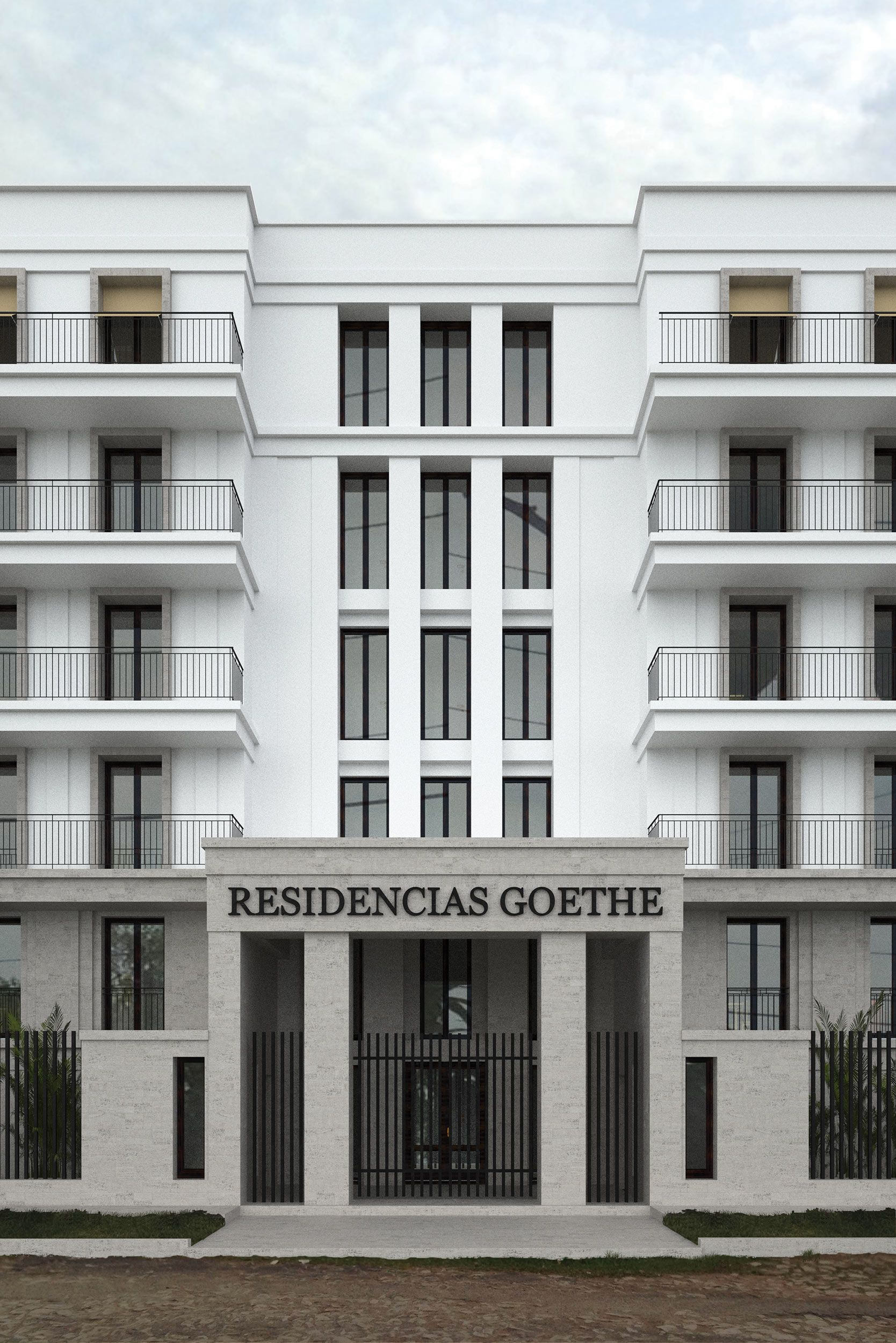 Neubau eines appartmenthauses mit panoramaterrassen vogel cg architekten berlin fassade - Architekten deutschland ...