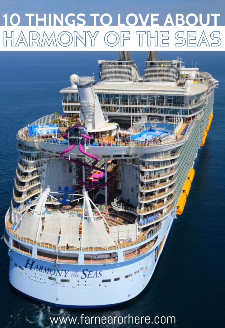 A List Of Things To Love About Harmony Of The Seas The Worlds - Biggest cruise ships list