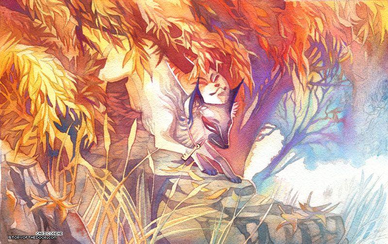 anari fox | Inari Fox by =blix-it on deviantART