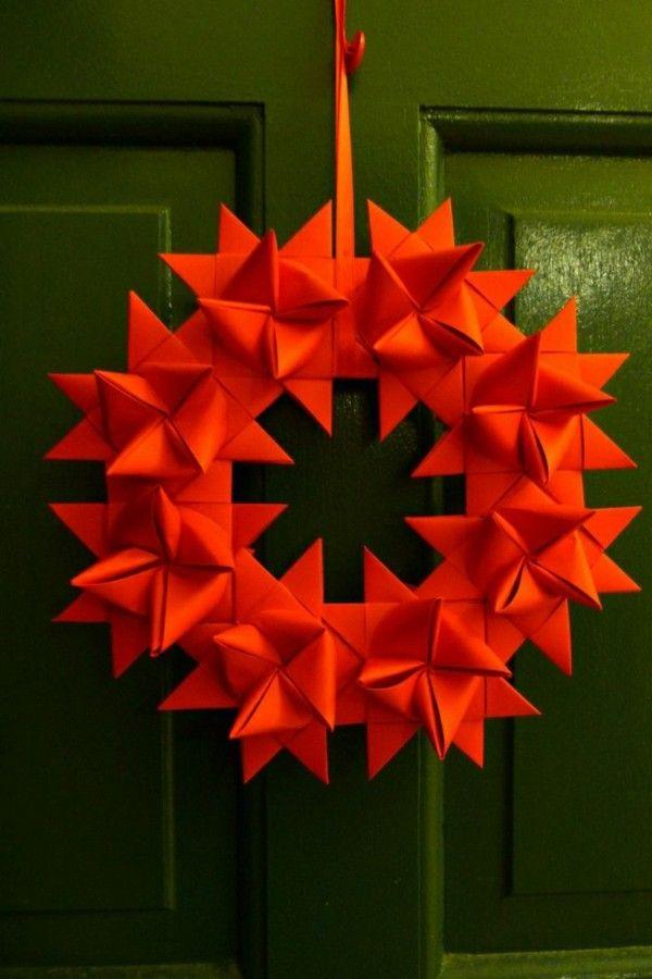 Weihnachtsdeko aus Papier: Diese Ideen sollten Sie sich merken! - Fresh Ideen für das Interieur, Dekoration und Landschaft