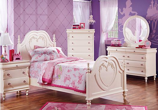 princess pearl twin pearl 5pc panel bedroom new home decor ideas girls bedroom sets girls. Black Bedroom Furniture Sets. Home Design Ideas