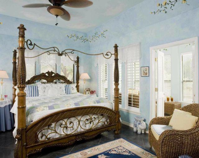 chambre à coucher style colonial | Design & déco | Pinterest ...