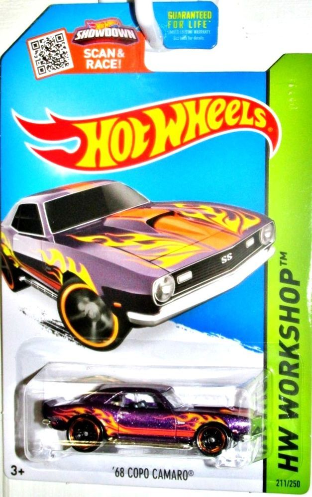 1968 Chevy Copo Camaro Hot Wheels 2015 Hw Workshop Heat Fleet 211