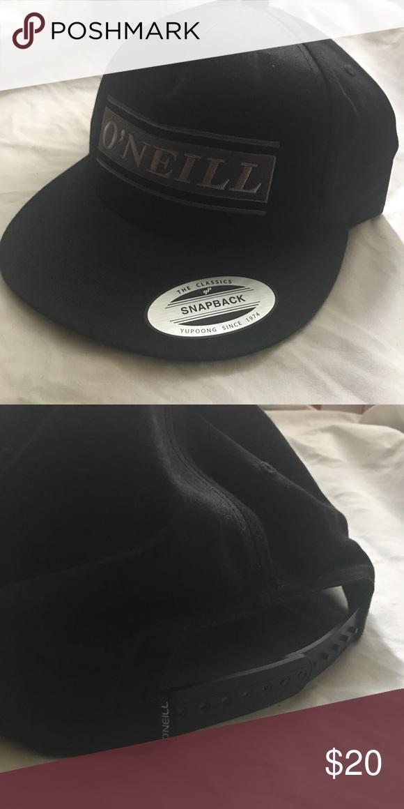 f58b33e13e716 O Neill Black SnapBack O Neill Black SnapBack Very Good Condition O Neill Accessories  Hats