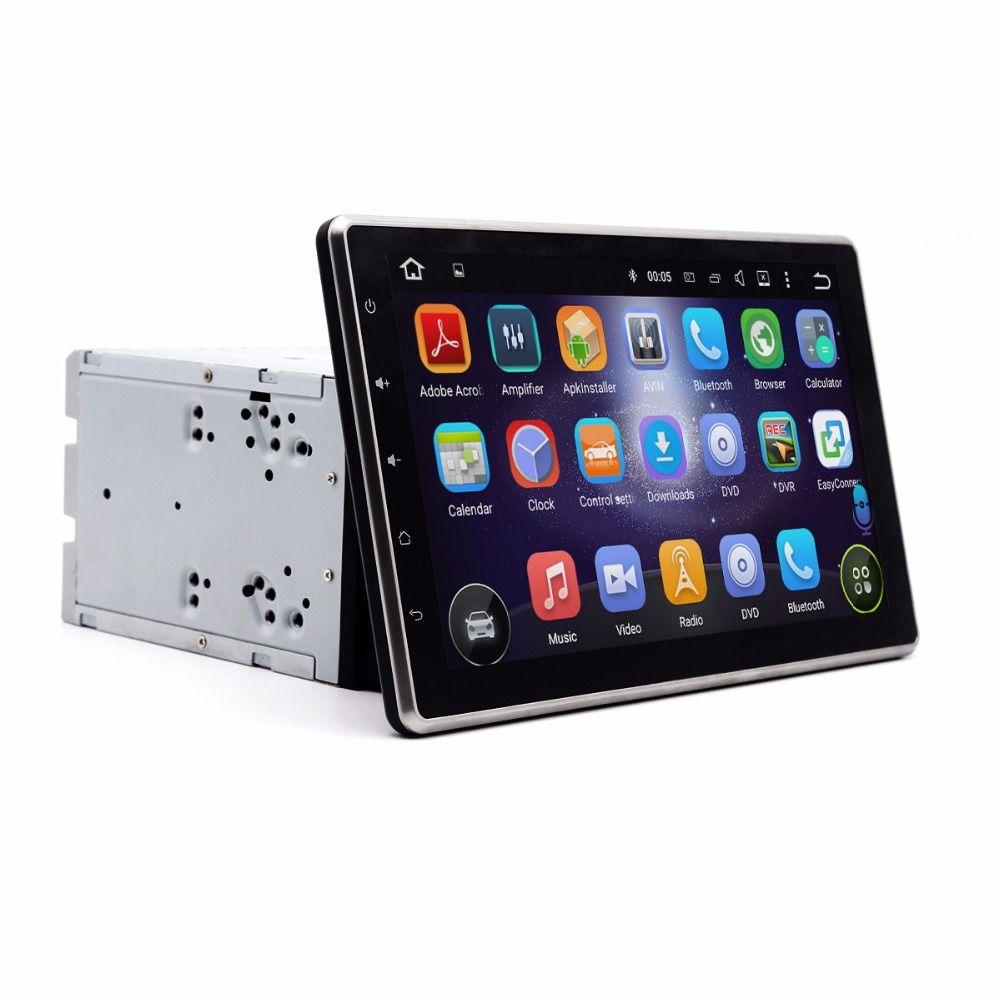 2 din android 5.1 car radio 10.1 inch Universal car gps radio 1024 x 600 2 din WIFI 4G Mirror-link