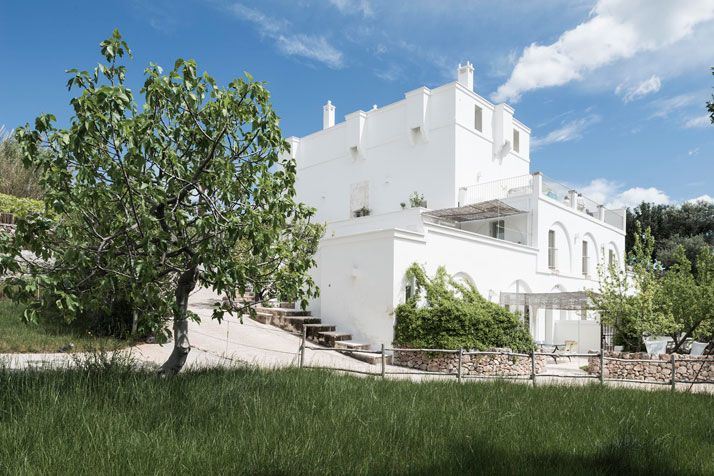 The stylish and laid back masseria alchimia guesthouse in for Kleine boutique hotels