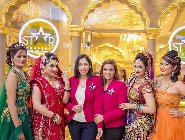 Aashmeen Munjaal's Star Hair & Makeup Academy  Internationally