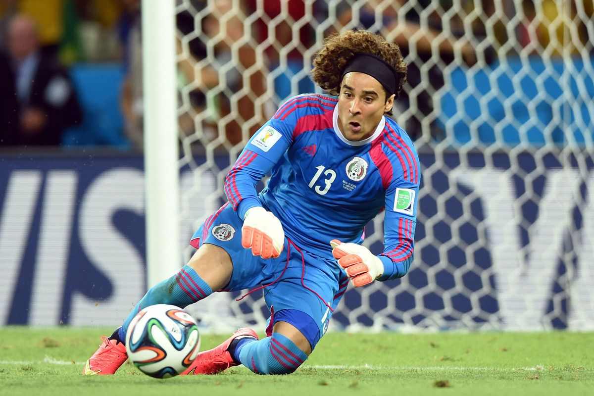 Armour Mexico Has A Real Keeper In Guillermo Ochoa Usa Today Sports Soccer World Usa Today Sports Sports Memes