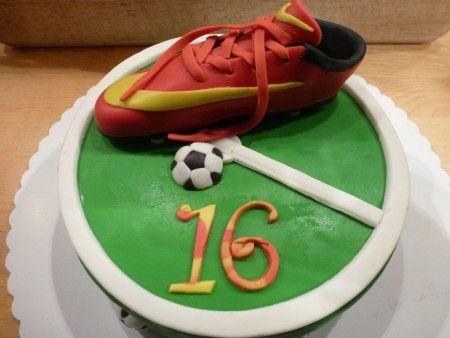 Nike Fussballschuh Torte Fussball Torte Motivtorten Geburtstag
