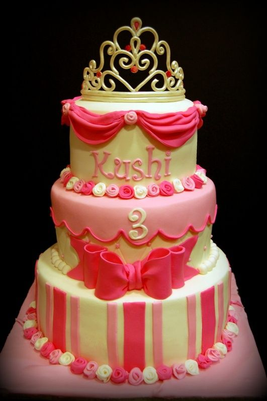 Pretty Birthday Cakes | cake for a little princess who
