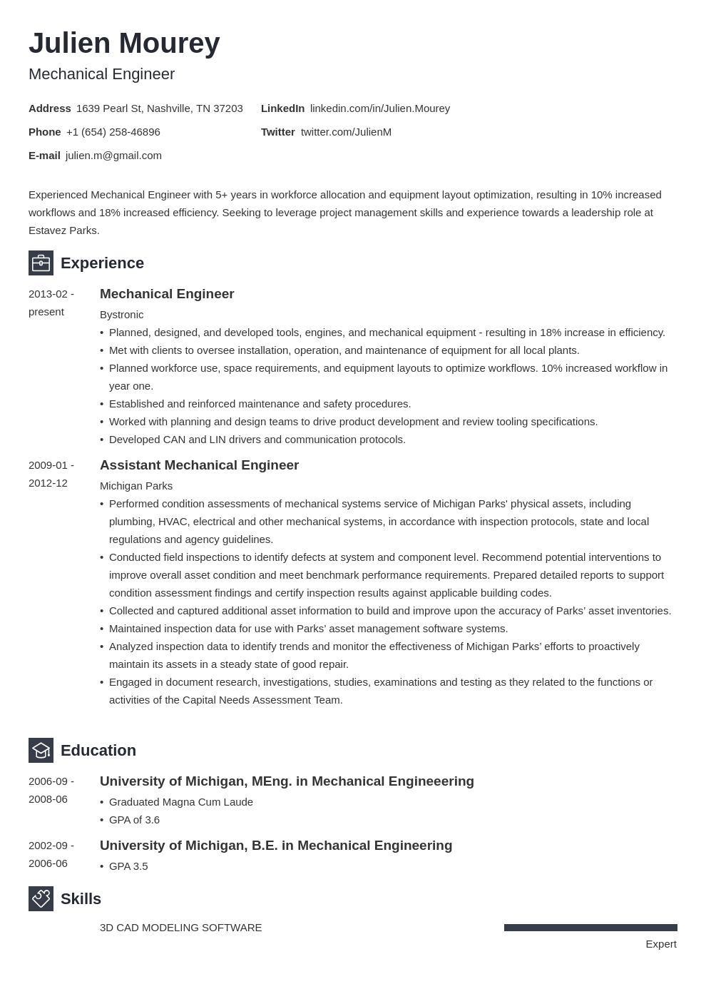 Mechanical Engineering Resume Template Newcast Mechanical Engineer Resume Engineering Resume Templates Engineering Resume
