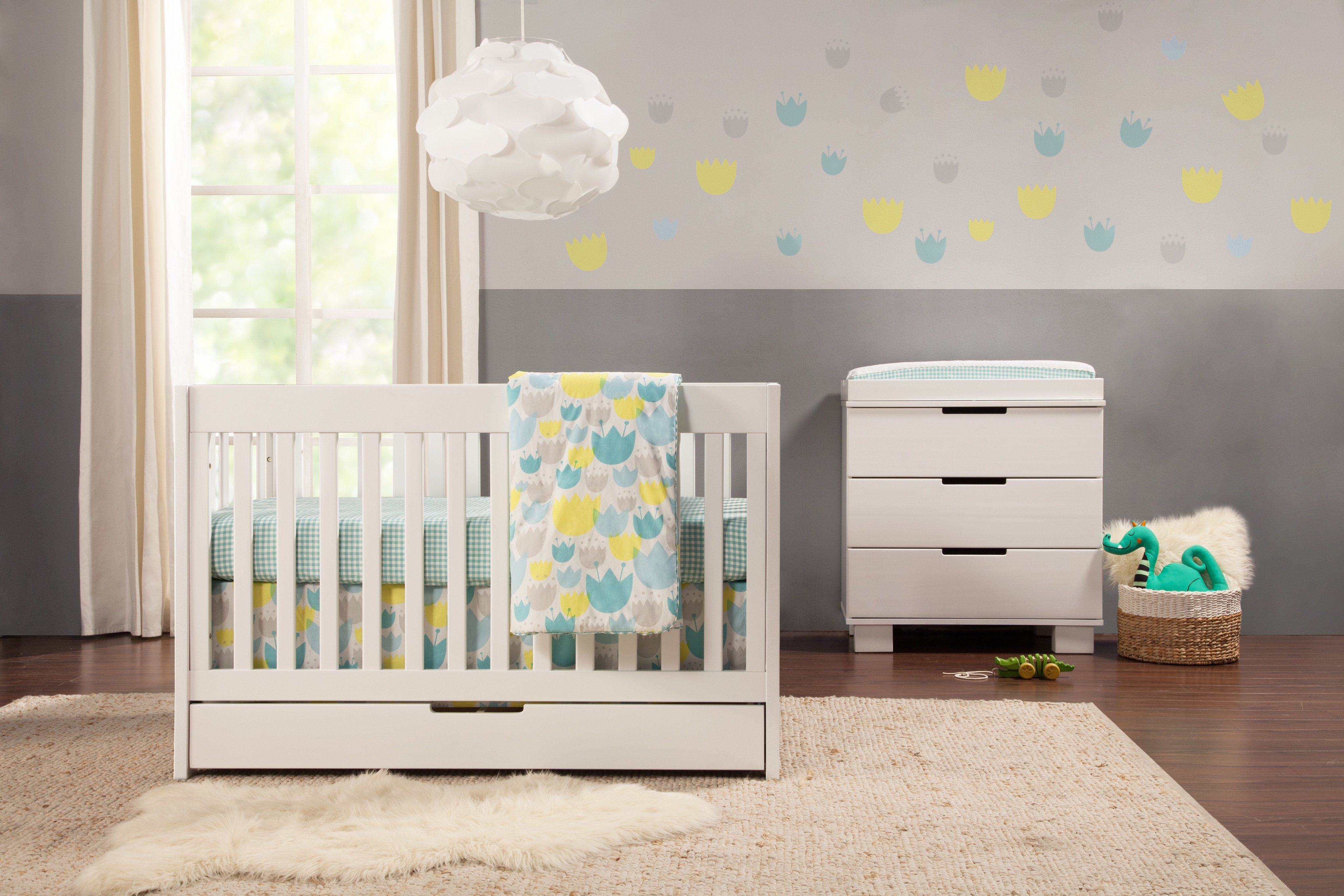 Ease Into Modern Style With The Mercer 3 In 1 Crib The