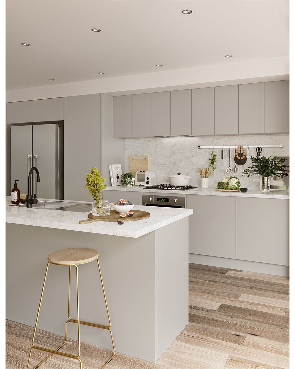 Kitchen Island Paradise In Kingsgrove: Day 3: As We Aim To Simplify Our Lives And Create Calming