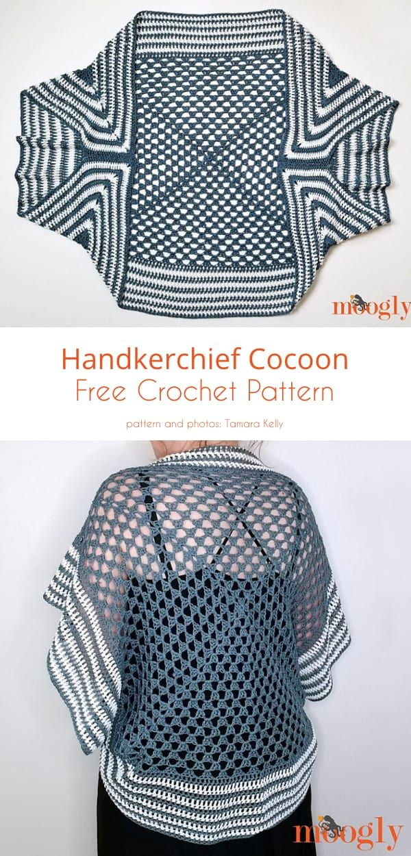 Wrapping Up in Cardigans, Free Crochet Patterns