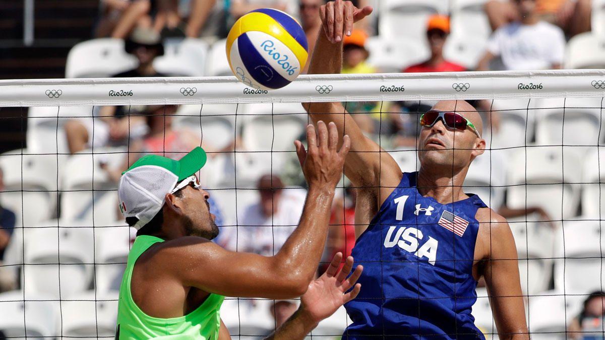Beach Volleyball Us Men Win But Sweat Fendrick Drop Game 2 Beach Volleyball Men Beach Rio Olympics