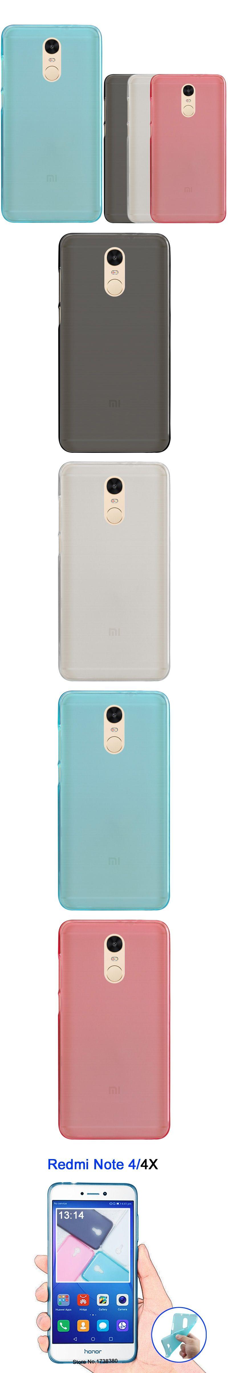 GodGift Xiomi Xiaomi Redmi Note 4X Case Matte TPU Soft Cover Phone Case For Xiaomi Redmi