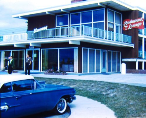 Ocean City Chevrolet >> Details About 1960 Motel Ocean City Chevy Impala Kodachrome