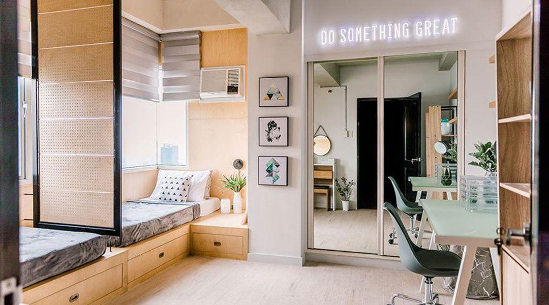 This 40 Sqm Unit By Morfosis Design Is A Millenial S Dream Condo Condo Interior Design Condo Interior Condo Design