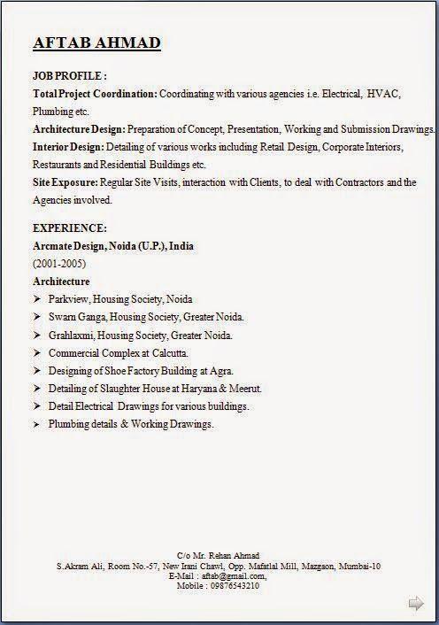 format of curriculum vitae pdf Sample Template Example of