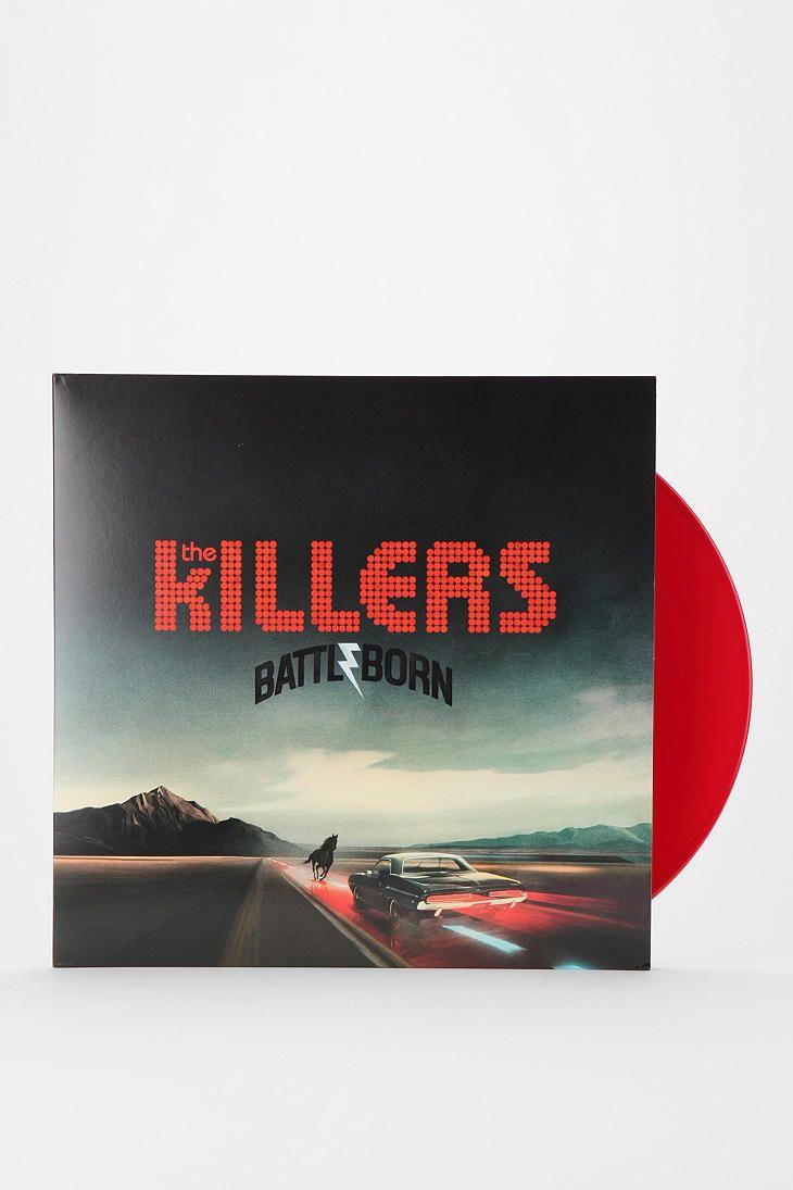 The Killers Battle Born Xlp Cool Album Covers Vinyl Records Urban