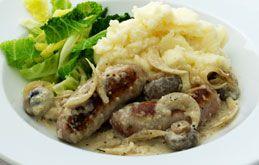 Sausage and Mustard Casserole