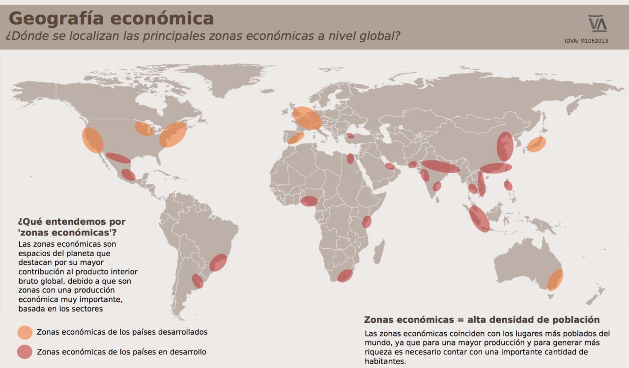 Migraciones y geografía económica Geografía económica