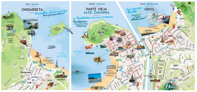 Donostia barrio a barrio - San Sebastián Turismo | Turismo ...
