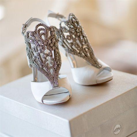Custom Vince Camuto Bridal Shoes Vera Wang Wedding Shoes Fun Wedding Shoes Shoe Inspiration