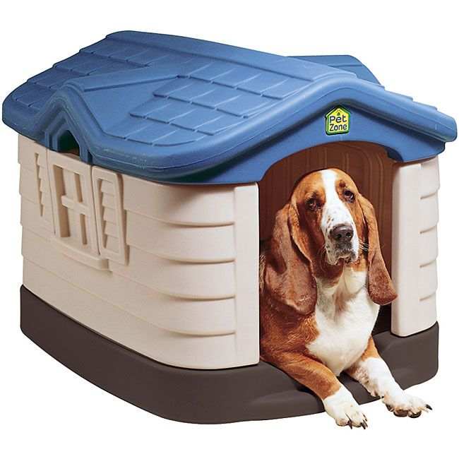 Keep Your Dog Secure With This Plastic Cottage Dog House Made