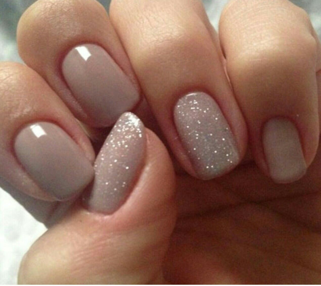 CND Shallac Field Fox and CND Ice Vapor | Nails | Pinterest | Fields ...