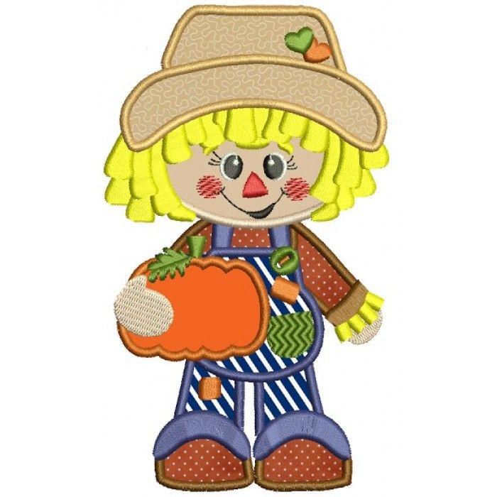 Cute scarecrow