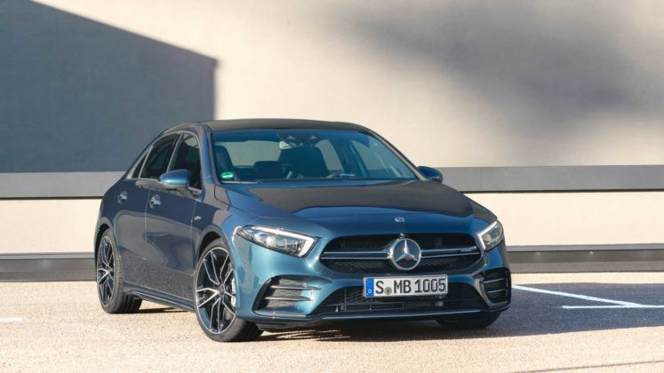 2020 Mercedes Amg A35 Saloon Revealed With Images Mercedes