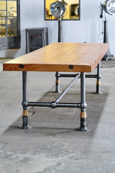 Attrayant Table Made With Different Metal Pipes   Google Search