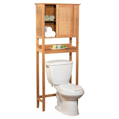 Target Marketing 23040nat Bamboo Space Saver Cabinet Bamboo Over Toilet Storage Over Toilet Storage Cabinet Shelves Over Toilet