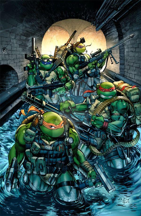 tmnt seal team turtles colors by saviorsson tmnt pinterest