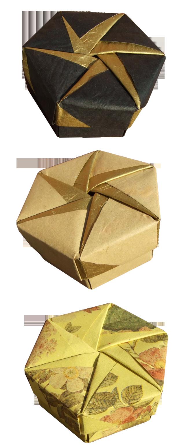 Origami Maniacs  Tomoko Fuse U00b4s Origami Hexagonal Box By