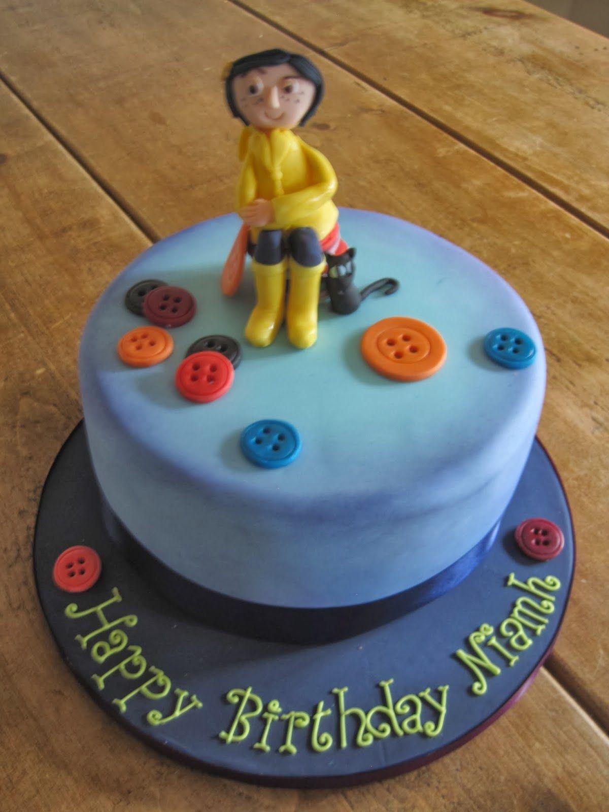 Terrific Cake Crush Coraline Birthday Cake With Images Birthday Cake Funny Birthday Cards Online Inifodamsfinfo